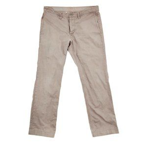 GAP 1969 Chino Pants Men's 34 Brown Slim Straight